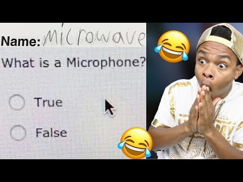 FUNNIEST KID TEST ANSWERS PART 20!