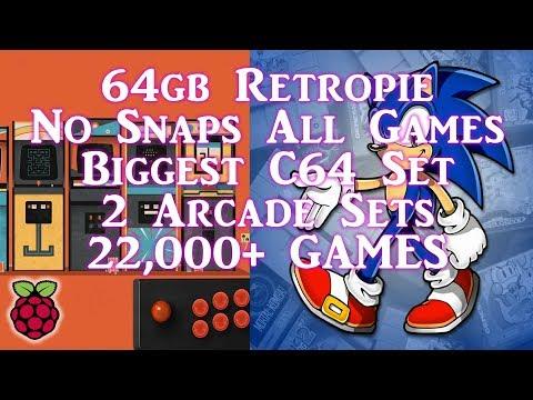 Darish Zone 64gb Ultimate Retropie 4 4 Build - Arcade Punks