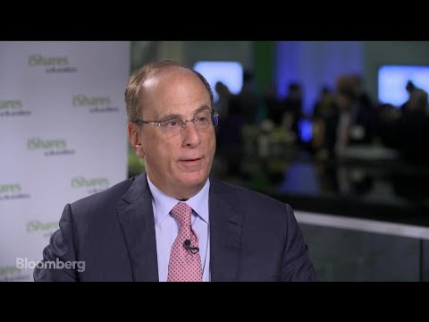 BlackRock's Fink on Markets, Economy and Cryptocurrencies