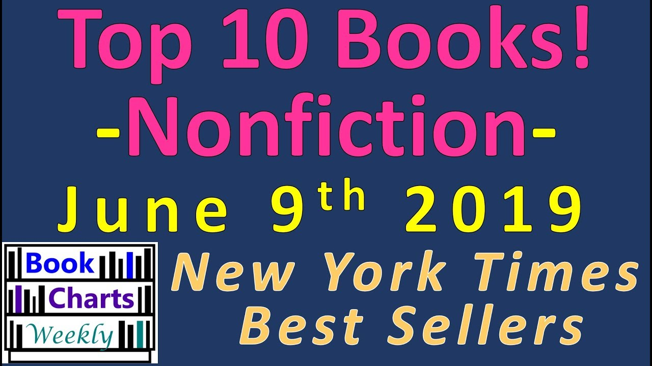 DISCOVER the Top 10 Books to Read in Nonfiction FAST! (June 9th 2019)
