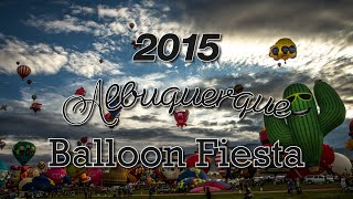 The Very Best Special Shapes Rodeo 2015 Albuquerque Balloon Fiesta Time Lapse