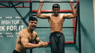 I DID A ONE HOUR PULLUP CHALLENGE WITH @Fit Minds   My First Vlog #pullupchallenge #calisthenics