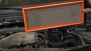 Как заменить все воздушные фильтра на BMW X3 F25 с дизельным двигателем N57