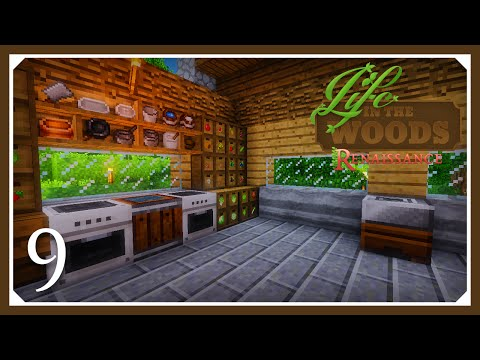 Minecraft Life In The Woods Renaissance Hungry | Pam's Harvestcraft | E09 | (Minecraft Mods 1.7.10 )