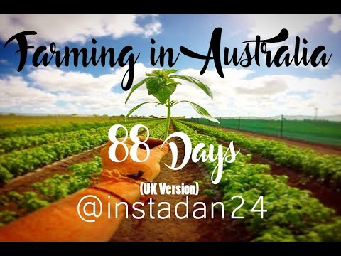 88 Days farm work in Australia (UK Version)