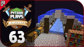 The End Ice Boat Road Tunnel! | Minecraft 1.11 PC | Python Plays Minecraft Survival [S2 - #63]