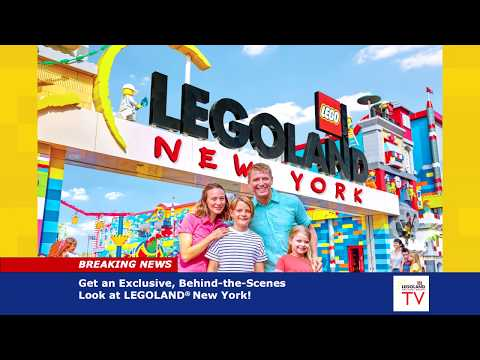 Gary Cee - Legoland New York Searches for Kid Reporters