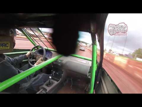 Shaun Harper Street Stinger In-Car Dixie Speedway 6/24/17!