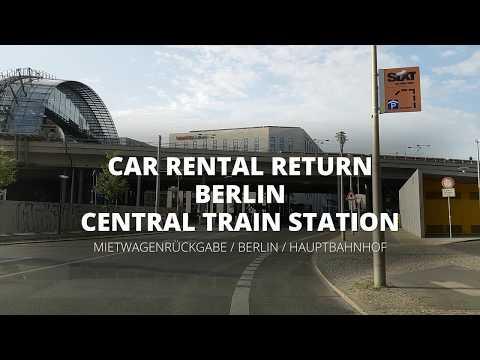 Car Rental Return - Berlin - Central Train Station