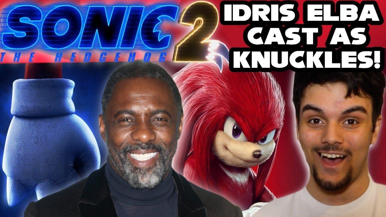 Sonic the Hedgehog 2 casts Idris Elba as Knuckles
