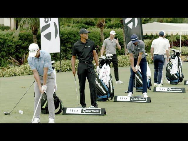 Team TaylorMade UNCUT SIM2 Driver Range Session | TaylorMade Golf