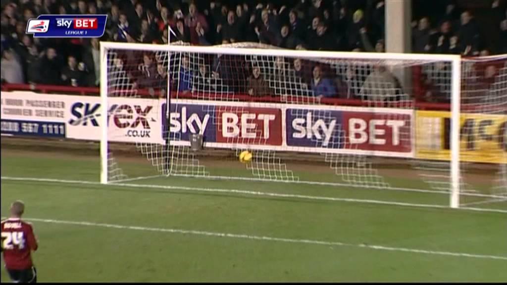 Brentford vs Peterborough United - League One 2013/14 Highlights