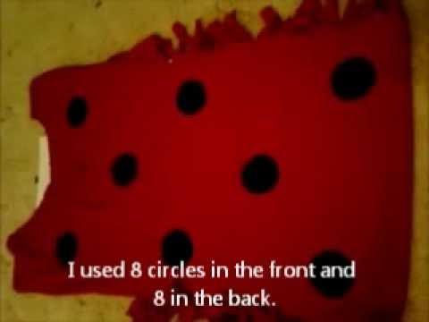 Diy easy ladybug costume youtube diy easy ladybug costume solutioingenieria Images