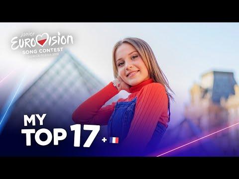 Junior Eurovision 2019 - Top 17 (So Far)
