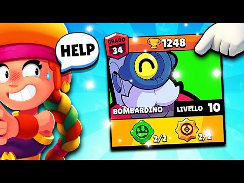 HELP! UNA VITTORA per FINIRE BOMBARDINO! - Brawl Stars