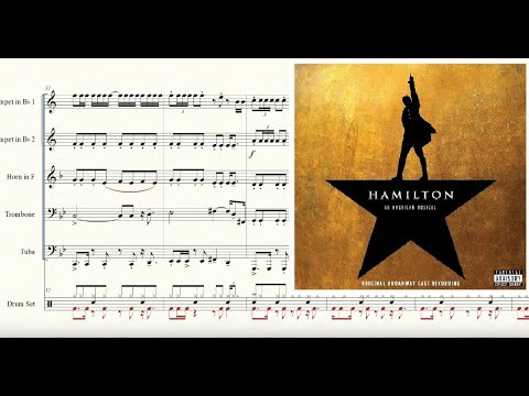 My Shot From Hamilton For Brass Quintet Sheet Music Youtube