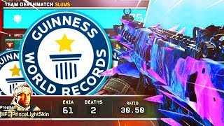 WORLD RECORD TDM GAMEPLAY in Black Ops 4! (WORLDS MOST KILLS in TDM)