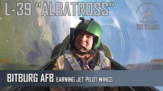 "L-39 ""ALBATROS"" - Earning Jet Pilots Wings - From The Pilots Seat"
