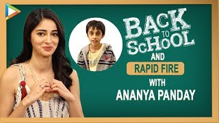 """Ananya Panday: """"All My BEST Friends Are My School Friends"""" 