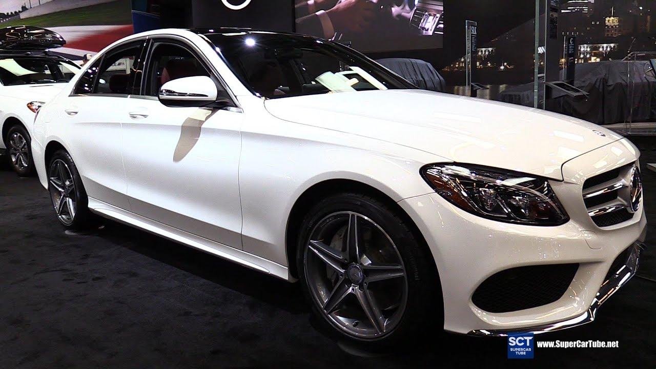 2016 Mercedes Benz C Cl C300 Sedan Exterior And Interior Walkaround Montreal Auto Show