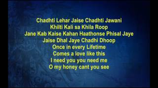 Hari Om Hari - Pyaara Dushman - Full Karaoke