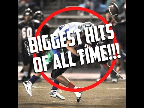 BIGGEST HIGH SCHOOL FOOTBALL HITS!! || HERE COMES THE BOOM ...