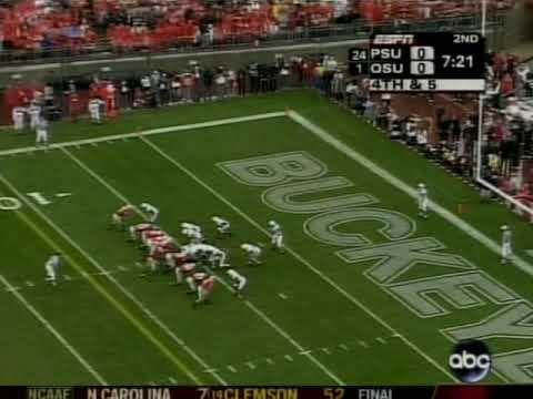 Play Of The Week FLASHBACK - Joe Paterno poops his pants