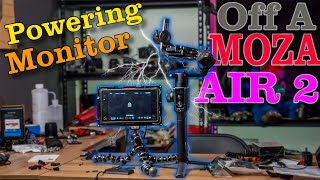 Powering Atomos Ninja off a Moza Air 2! Will it work?