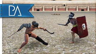 GLADIATOR GAMES - Colosseum Mod Gameplay - Total War: Attila