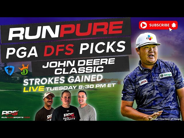 JOHN DEERE CLASSIC DRAFTKINGS PGA PICKS - STROKES GAINED