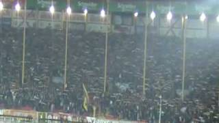 war chant and galatasaray fans ali sami yen stadium show (powered by UltrAslan)