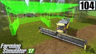 Budowa zadaszenia na kombajny - Farming Simulator 17 (#104)