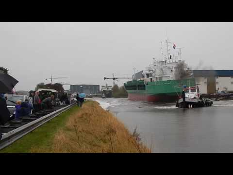 Launch 'Arklow Cape' at Ferus Smit - Westerbroek | Stapellauf | Tewaterlating - #485NL