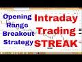 Intraday Trading Malayalam | Opening Range Breakout Strategy | Streak