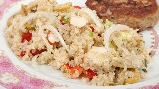 Quinoa And Chicken Salad - Home Cooking 101