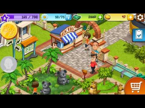 เกมส์มือถือ โหลดฟรี Zoo Craft เกม สร้าง สวน สัตว์ เล่นเพลิน mobile game