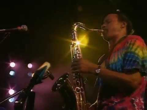 The Neville Brothers Sax Solo