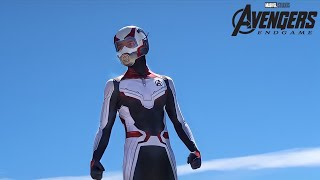 AVENGERS QUANTUM REALM SUIT UNBOXING AND REVIEW! *REAL LIFE*