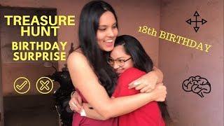 TREASURE HUNT BIRTHDAY SURPRISE?! My Bestfriend's 18th Birthday surprise || Anvika Shetty