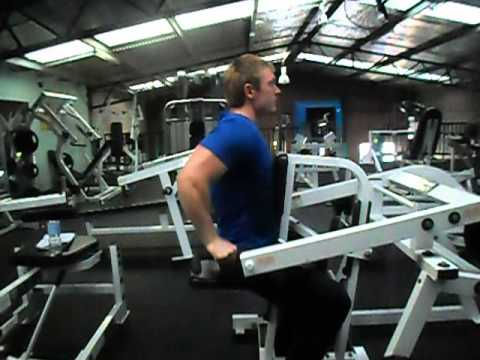 hammer strength tricep dip bodybuilding exercise workout