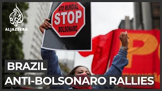 Brazil COVID-19: Protests over Bolsonaro's handling of outbreak