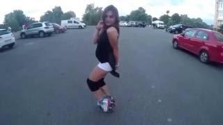 Катание на роликовых коньках  #Seba