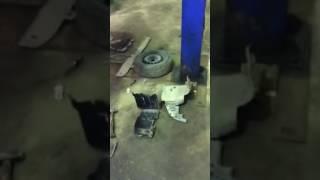 21 сентября 2016г.Замена сцепления на Рено Символ 1,4 бензин