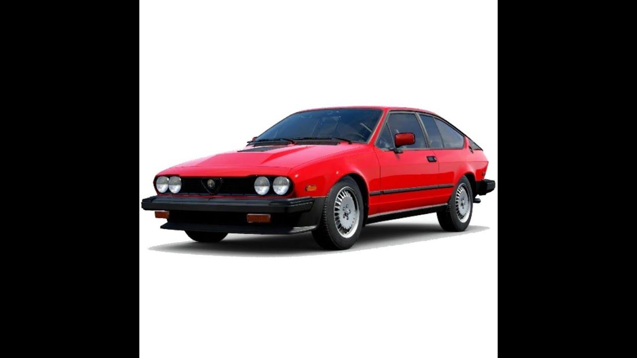 Alfa Romeo Gtv 6 1983 1986 Service Manual Repair Manual Wiring Diagrams Youtube