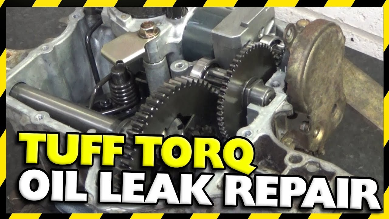 Tuff Torq Gearbox Oil Leak Repair | K61 Hydrostatic John Deere