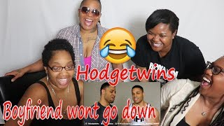 Mom reacts to Boyfriend Will Not Go Down On Me @Hodgetwins   Reaction to askhodgetwins  BB Aunt J100