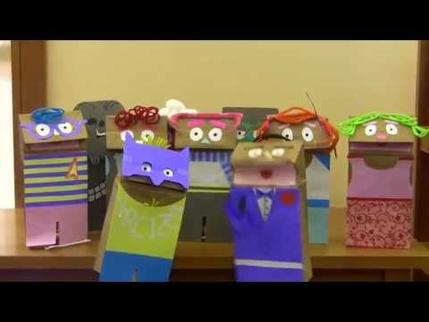 Comic-Con: Paper Bag Puppet Announcement!