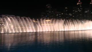 The Dubai Fountain - Fontanny w Dubaju 2015/05/20