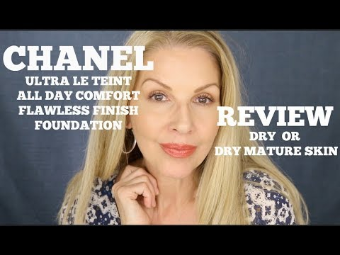 Chanel ULTRA LE TEINT | FOUNDATION REVIEW | DRY SKIN thumbnail