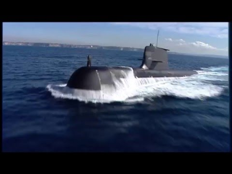 Collins-class submarines, file footage